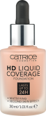 Основа тональная CATRICE HD Liquid Coverage Foundation 040 Warm Beige