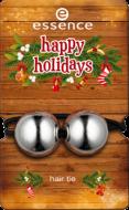 Pезинка для волос Hair tie Happy holidays Еssence 01 jingle bells rock: фото