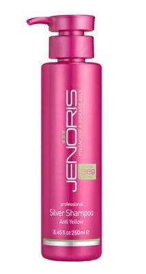 Шампунь нейтрализующий желтизну волос Jenoris Silver Shampoo 250 мл: фото