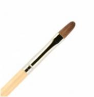 Кисть для ногтей ВАЛЕРИ-Д лак из волоса пони №6 овальная: фото