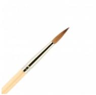 Кисть для ногтей (акрил) ВАЛЕРИ-Д из волоса колонка №4 круглая в футляре: фото