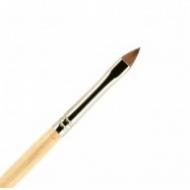 Кисть для ногтей акрил ВАЛЕРИ-Д из волоса колонка №4К лепесток: фото