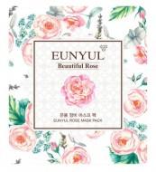 Маска для лица с экстрактом розы EUNYUL Rose mask pack 30мл: фото