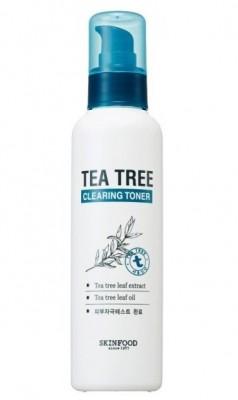 Тоник очищающий с экстрактом чайного дерева SKINFOOD Tea Tree Cleansing Toner: фото