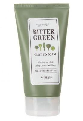 Пенка очищающая с глиной SKINFOOD Bitter Green Clay To Foam: фото