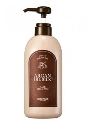 Шампунь с аргановым маслом SKINFOOD Argan Oil Silk Plus Shampoo: фото