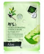 Маска тканевая с экстрактом алоэ Shelim Ultra Hydrating Essence Mask Aloe 25мл: фото