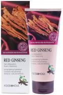 Пенка для умывания с красным женьшенем FoodaHolic Red Ginseng Skin Relaxing Foam Cleansing 180мл: фото