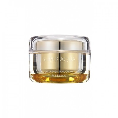 Крем Регенерирующий MISSHA Super Aqua Cell Renew Snail Cream 47мл: фото