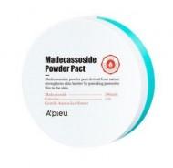 Пудра компактная с мадекасоссидом A'PIEU Madecassoside Powder Pact: фото
