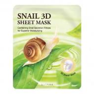 Маска для лица с муцином улитки MISSHA Healing Snail 3D Sheet Mask: фото