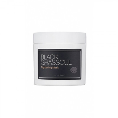 Минеральная маска MISSHA Black Ghassoul Tightening Mask 95 г: фото