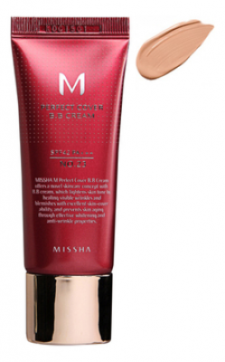 Тональный крем MISSHA M Perfect Cover BB Cream SPF42/PA+++ No.23/Natural Beige 50ml: фото
