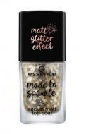 Верхнеепокрытие для ногтей Essence Made to Sparkle Sequin Matt Top Coat: фото