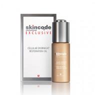 Клеточное ночное восстанавливающее масло Skincode 30 мл: фото