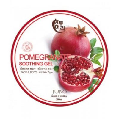 Успокаивающий гель с экстрактом граната Juno Sangtumeori Pomegranate 100% Soothing Gel, 300мл: фото