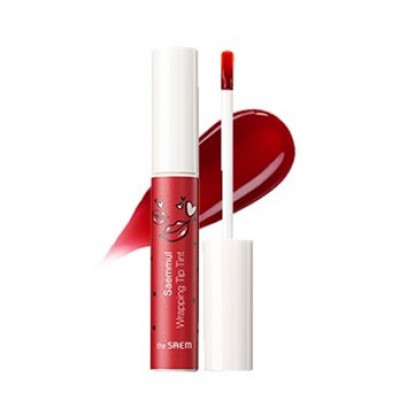 Тинт для губ THE SAEM Saemmul Wrapping Tip Tint 01 Heart red 10гр: фото