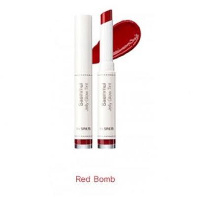 Тинт для губ THE SAEM Saemmul Jelly GlowTint RD02 Red Bomb 1,8гр: фото