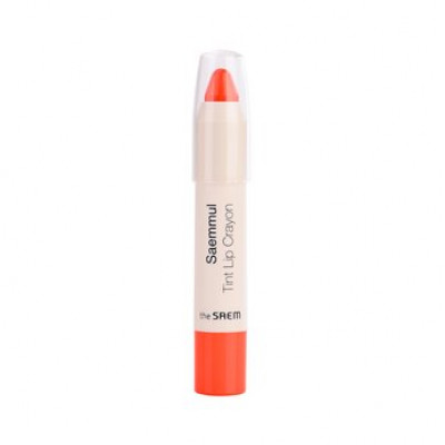 Карандаш для губ THE SAEM Saemmul Tint Lip Crayon 02. Refresh Orange 2,5гр: фото