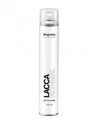 Лак аэрозольный для волос нормальной фиксации Kapous Styling 750мл: фото