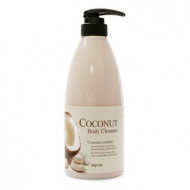 Гель для душа кокосовый Welcos Coconut Body Cleanser 740гр: фото