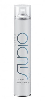 Лак для волос нормальной фиксации линии Kapous Styling Studio 500мл: фото