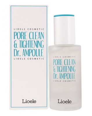 Сыворотка сужающая поры Lioele Pore Clean & Tightening Dr. Ampoule Pore Control 35г: фото