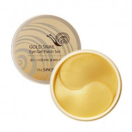 Патчи для век с экстрактом муцина улитки THE SAEM Gold Snail Eye Gel Patch Set 60шт: фото