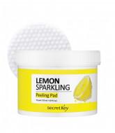 Диски ватные для очищающие Lemon Sparkling Peeling Pad 70шт: фото