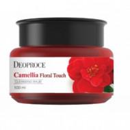 Бальзам очищающий для снятия макияжа DEOPROCE CAMELLIA FLORAL TOUCH CLEANSING BALM 100мл: фото