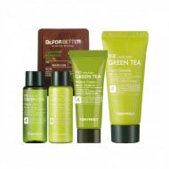 Набор для лица с зеленым чаем Tony Moly The Chok Chok Green Tea Watery Kit: фото