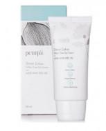Крем оcветляющий с экстрактом лотоса Petitfee Snow Lotus White Tone Up Cream 50мл: фото