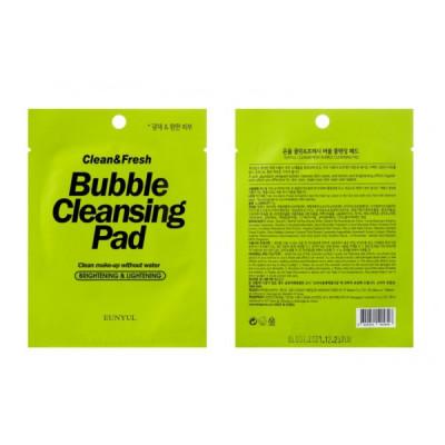 Пенящиеся очищающие подушечки EUNYUL CLEAN & FRESH BUBBLE CLEANSING PAD 1 шт: фото