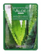 Успокаивающая тканевая маска с соком алоэ LEBELAGE Aloe Natural Mask: фото