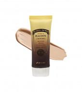 Омолаживающий ВВ крем с экстрактом плаценты 3W CLINIC Premium Placenta Sun BB Cream SPF40/PA+++: фото