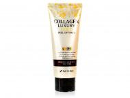 Золотая маска-плёнка с коллагеном 3W CLINIC Collagen & Luxury Gold Peel Off Pack: фото