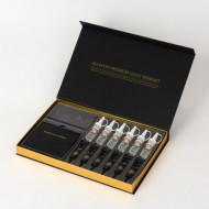 Антивозрастная программа Золотая Терапия ELLEVON Premium Gold Therapy 93мм*93мм*18 шт/5мл*6шт/10мл*6шт: фото