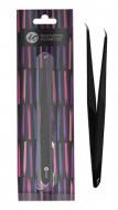Пинцет для ресниц ультратонкий (изогнутый) INNOVATOR COSMETICS: фото