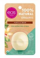 Бальзам для губ Ваниль Eos Organic vanilla bean lip balm 7г: фото