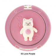 Румяна Tony Moly Bling Cat Powder Cheek 03 Love Purple 6,5г: фото