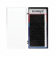 Ресницы Bombini Черные, 20 линий, изгиб С – MIX (9-12) 0.05: фото